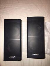 Bose Jewel Cube Series II Speakers (Black) 1 Pair