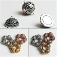 Sparkle Zircon Round Ball Strong Magnetic Connector Clasp 8mm 10mm 12mm 14mm