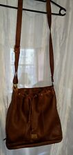 Classy Authentic Designer Picard Real Leather Vintage Bucket Drawstring Bag £199