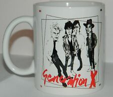 GENERATION X / BILLY IDOL 'KING ROCKER' MUG - FEATURES  ORIGINAL 70's ARTWORK