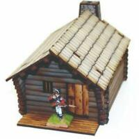4Ground Terrain 28mm New England Pioneer's Cabin (Pre-Painted) Pack New