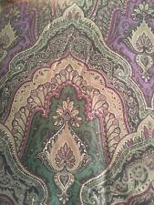 Ralph Lauren Great Compton Queen Westport Purple Paisley  Comforter Reversible