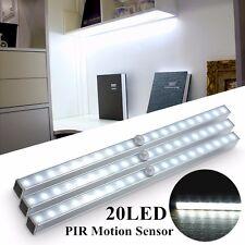 Wireless Motion Sensor 20 LEDs Portable Closet Under Cabinet Night Light Lamp