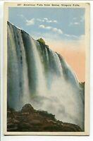 American Falls from Below No. 237 Niagara Falls, New York Linen Unposted