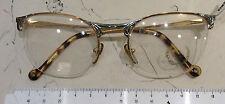 T.Look lulu occhiale nuovo vintage anni 90' metallo nilor colore oro