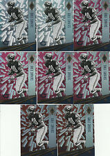 8 GALE SAYERS LOT RED PINK PARALLELS 2016 PANINI PHOENIX