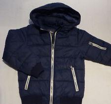 H&M Jungen Winterjacke Steppjacke Jacke Blau 134 Top!
