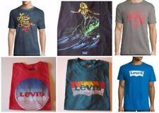 T-shirts bleus Levi's pour homme