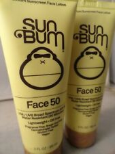 Sun Bum Spf 50 Face Lotion - 3 oz. each (2pk bundle) exp 2021