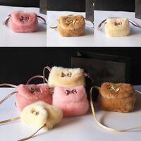 Fashion Handbag Princess Bow-knot Wallet Kids Girls Shoulder Messenger Bag