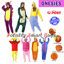 Onesie Adult Animal Cartoon Cosplay Party Dressup Pyjama Onesies Kigurumi Gift