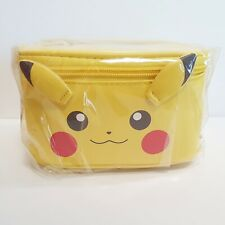 Pokemon Pikachu Bento 2P Lunch Box Set Food Container Storage Bag for Picnic