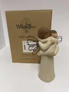 2002 Willow Tree Figurine - Angel's Embrace (Mother & Child) with Box - #26084