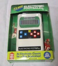 New Classic Retro 1970s Electronic Football handheld game in box Mattel