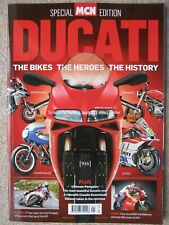 MCN Ducati Special Edition Panigale V4 Supersport 916 Multistrada Carl Fogarty
