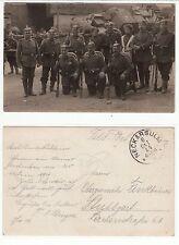 Neckarsulm, Abschied der Soldaten in den 1. Weltkrieg 8.Okt. 1914