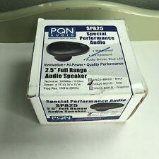 New listing Pqn Audio Spa25 2.5�full Range Audio Speaker New