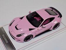 1/18 Davis and Giovanni Ferrari F12 N-Largo Novitec Rosso  Metallic Pink one off