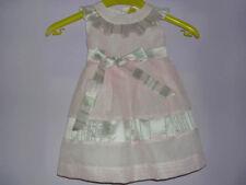 ABITO CERIMONIA BIMBA marca STELLA - TG. 2 (3-6 mesi) vestito rosa elegante