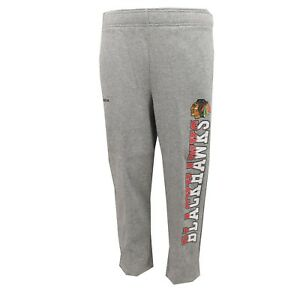 Chicago Blackhawks Official NHL Reebok Kids & Youth Size Sweatpants New Tags