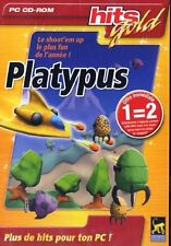 PLATYPUS - HITS GOLD - PC CD-ROM - NEUF - VERSION FRANÇAISE