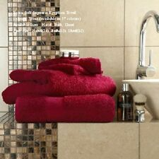 Zero Twist Towels Bath Sheet 100 Egyptian Cotton Extra Soft & Absorbent 550gsm Hand Towel 50x80 Cms Red