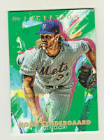2020 Topps Inception GREEN PARALLEL #44 NOAH SYNDERGAARD New York Mets