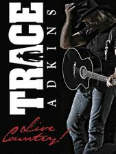 Trace Adkins Live Country DVD with Ladies Love Country Boys & No Thinkin Thing