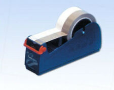 Heavy Duty in metallo Sellotape Desktop Dispenser ponderata Bench Nastro Adesivo 25/50mm 66M