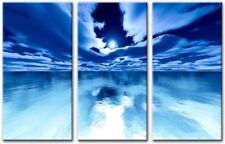 Large (up to 60in.) Blue Impressionist Art Prints