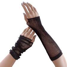 Women's Fingerless Fishnet Gloves