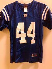 Reebok Women's NFL Jersey Indianapolis Colts Dallas Clark Blue sz S