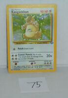Kangaskhan HOLO Jungle #5/64 Rare Pokemon Card listing # 75