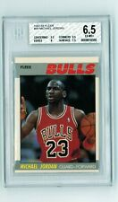 1987-88 Fleer #59 Michael Jordan BGS 6.5 EX-MT+ (One 9.5 & One 8 SUBS) 2nd Yr
