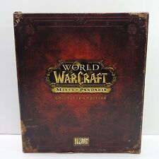 World of Warcraft Mists of Pandaria Collector's Edition Windows/Mac 2012 NO GAME