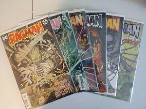 RAGMAN #1-6 (2017) RAY FAWKES, INAKI MIRANDA, DC, MINI-SERIES 1st prints (4G)