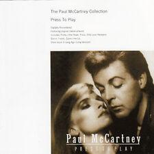 PAUL McCARTNEY Press To Play CD