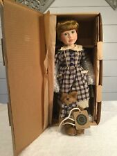 Boyd Yesterdays Child Taylor & Jumper Limited Edition Coa Porcelain Doll