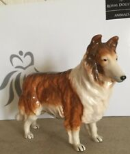 ROYAL DOULTON DOG ROUGH COLLIE STANDING CHINA MODEL No. RDA 106  PERFECT BOXED