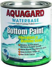 Aquagard Boat Marine Waterbased Anti Fouling Bottom Paint 1 Quart Blue