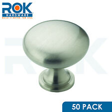 50 Pack Satin Nickel Amerock Allison Cabinet Cupboard Door Knob Pull BP53005G10