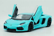 Welly 1:24 Lamborghini Aventador LP700-4 Diecast Model Racing Car Toy Blue NIB