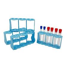1pc Plastic Test Tube Rack 6 Holes Holder Support Burette Stand Tube Stas