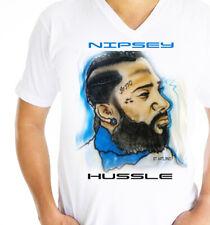 Nipsey Hussle T shirt Airbrush Design by GT Artland