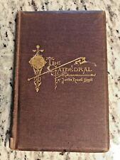 """1870 Antique Book """"The Cathedral"""""""
