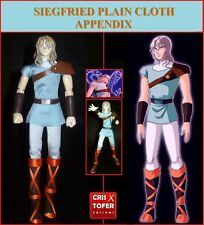 SIEGFRIED DUBHE ALFA PLAIN CLOTH APPENDIX, SAINT SEIYA MYTH CLOTH ORION ASGARD