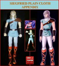 SIEGFRIED DUBHE ALFA PLAIN CLOTH APPENDIX, SAINT SEIYA MYTH CLOTH ORION ASGARD
