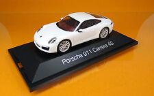 Herpa 071048 PORSCHE 911 CARRERA 4 S coupé blanc scale 1 43 NOUVEAU neuf dans sa boîte