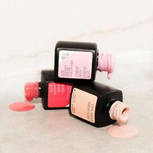 GENUINE Sensationail Gel Polish Sensational LOT Pink Nude 4 French Manicure OPI