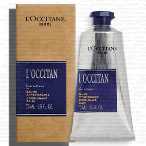 L'occitane Loccitan After-Shave Balm 2.5fl.oz/75ml  NEW BOX [Free USA Shipping]